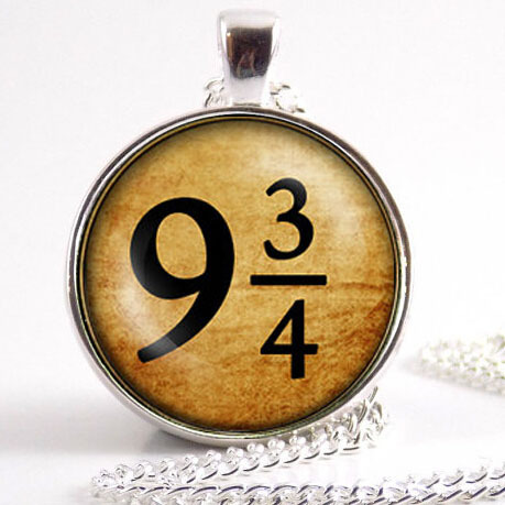steampunk train tickets Deathly Hallows Necklace time turner dr who witch Triangle necklace fashion jewelry chain pendant men