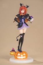 Love Live! School Idol Festival Maki Nishikino Halloween pumpkin with lights Action Figure 24cm