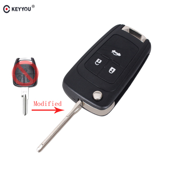 Chiave Telecomando per CHEVROLET Flip Folding Remote Key Right Blade