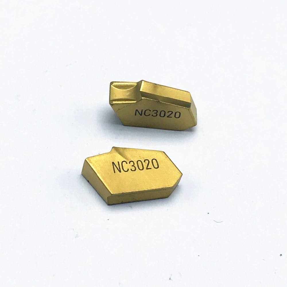 SP200 SP300 SP400 PC9030/NC3020/NC3030 Korloy Grooving Carbide Inserts CNC Lathe Cutter Turning Tool