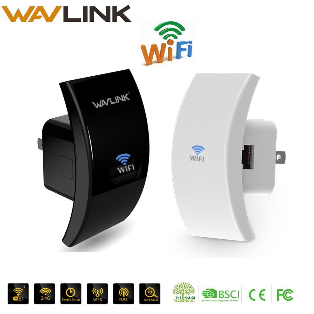 Wi-Fi Repeater Signal-Amplifier Wifi-Booster Network-Range 300mbps Portable Wireless
