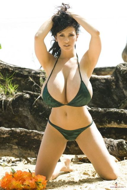 Denise Milani In Bikini