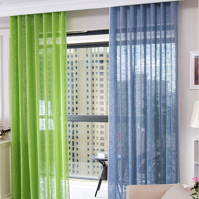 solid color tulle curtain screens white sheer curtains for living romm fashion tulle curtains balcony window curtain tg0094