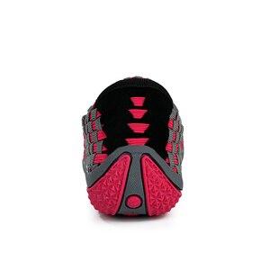 Image 5 - Sandálias femininas de verão stq 2020, sapatos baixos femininos de tecido, sandálias para senhoras, sapatos de praia flops 812,