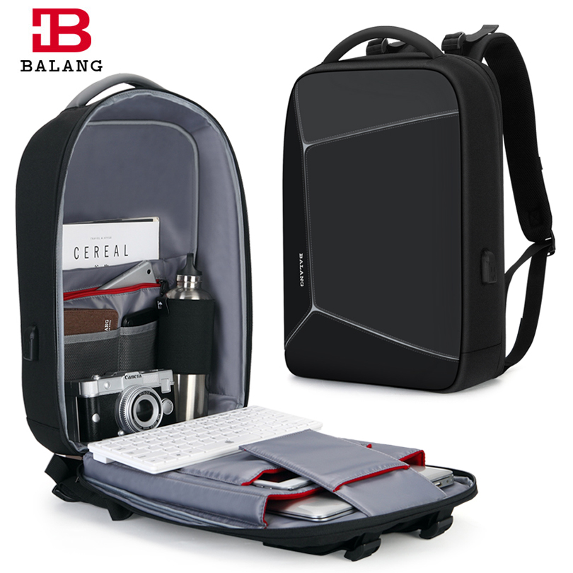 2019 Balang Laptop Backpack for 15 6 inch Fashion School Bags Anti Theft Backpack Men Multifunction