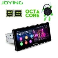 8,8 joying Android Универсальное автомобильное радио стерео Octa Core головное устройство мультимедиа Navi MP5 плательщика Поддержка Zlink Sim карты Bluetooth ТВ