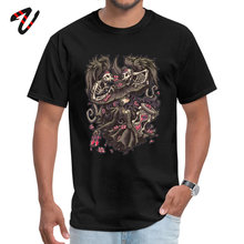 Witching Hour Cotton Funny black Tops Tees Discount Short Sleeve Punk Men T-Shirt Lovers Day Shirts O Neck Streetwear