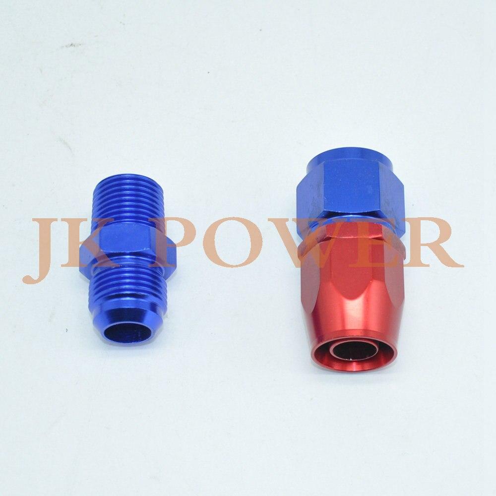 KIT de ligne de vidange d'huile et d'eau pour chargeur TURBO universel en aluminium JK - 4