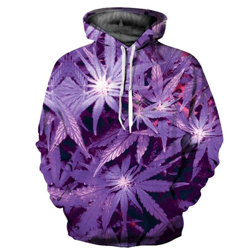 3d plant men women hoodie spring autumn cool hooded mens sweatshirt male female sportsman wear pullover hoody coat & jacket