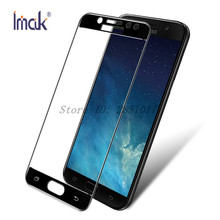 sFor Samsung Galaxy J7 2017 Glass Tempered Imak Full Cover Screen Protector For Samsung Galaxy J7 2017 Protective Glass