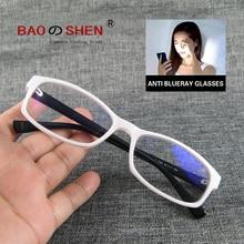 blue light blocking glasses computer anti ray Radiation protection goggles White box Retro fashion Men Ms