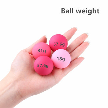 GUIMI Kegel Trainer Vaginal Balls for Women Pussy Massage Vagina Exercise Geisha Ben Wa Ball Erotic Toys Sex Product for Adult 4