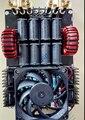 Frete Grátis 1000 w 50A 1 kw máquina de aquecimento por indução ZVS produto tensão 12 v ~ 40 v