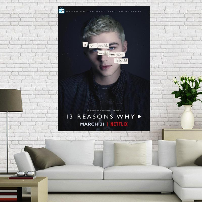 Custom 13 Reasons Why Poster Living Room Poster Birthday Gift Custom Your Favourite Photos Posters More Size