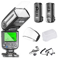 Neewer NW565EX Professional E TTL Slave Flash Speedlite Kit for Canon DSLR Cameras