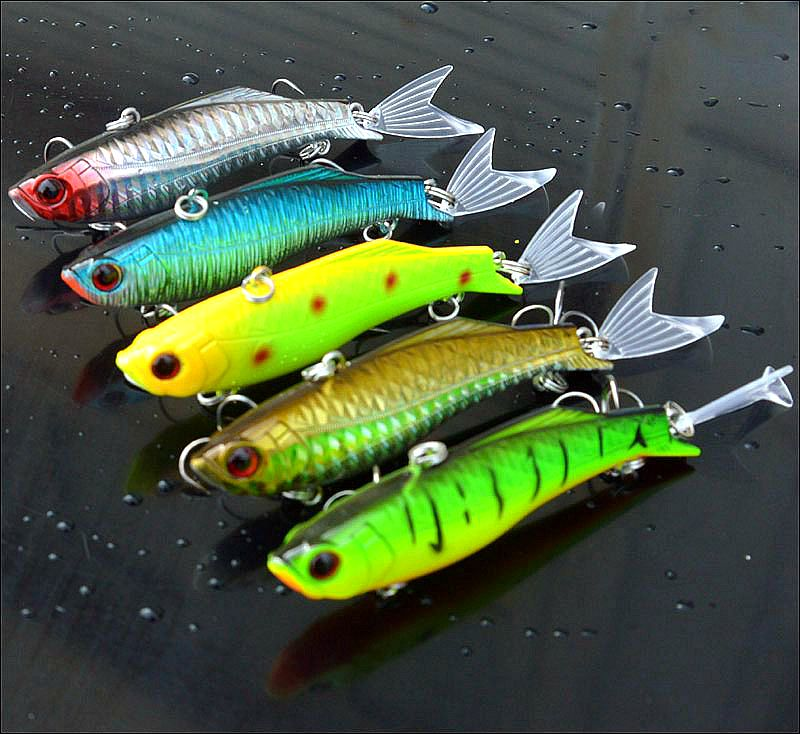 Image 2 - 23g  Iron Plate Metal lead VIB Fish Bait Sinking Sea Fishing Lure Reflective Body High Quality Fishing Tackle-in Fishing Lures from Sports & Entertainment