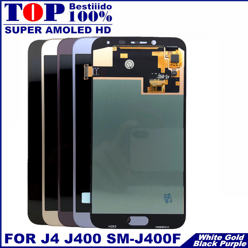 For J400 AMOLED LCD For Samsung Galaxy J4 J400 J400F J400G/DS SM-J400F LCD Display Touch Screen Digitizer Assembly Replacement(China)