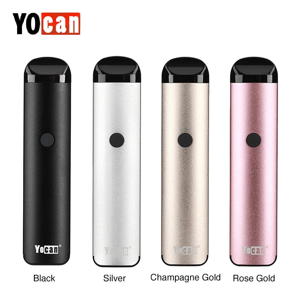 Neue Original Yocan Evolve 2,0 Pod Vape Kit W/Integrierte 650 mAh Batterie & 3 Arten Nachfüllbare Pod Pod system VS MINIFIT/Nord Kit