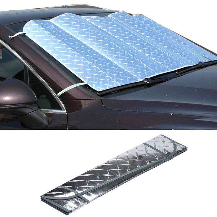1pc Car Sun Shade Auto Curtain Casual Foldable Car Windshield Visor Cover Front Rear Block Window Sun Shade Sunshade Car