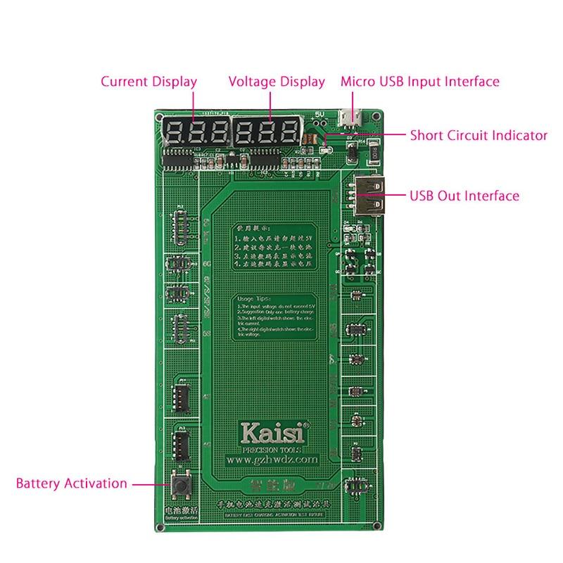 Telefon Baterie Aktivace Nabíjení Deska Telefon Oprava nářadí - Sady nástrojů - Fotografie 5