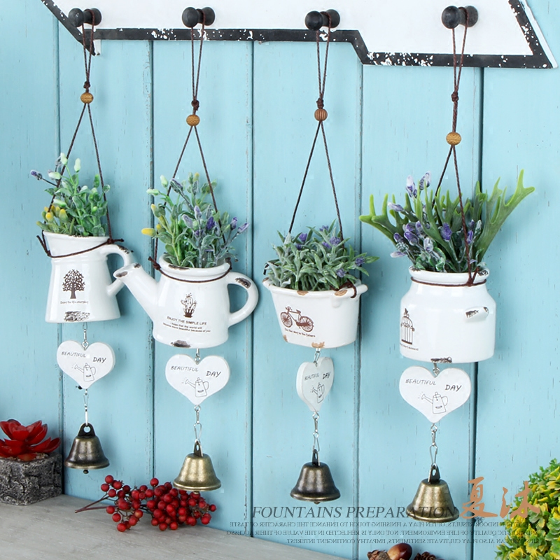 Country style artificial succulents green plants ceramic campanula craft  wall decor vintage home decor valentine s day. Popular Vintage Christmas Wreaths Buy Cheap Vintage Christmas