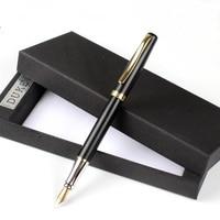 10pcs/lot luxury Iraurita Fountain Pen Ink Pen Golden Clip 0.5mm Caneta Tinteiro Stationery Penna Stilografica 03862
