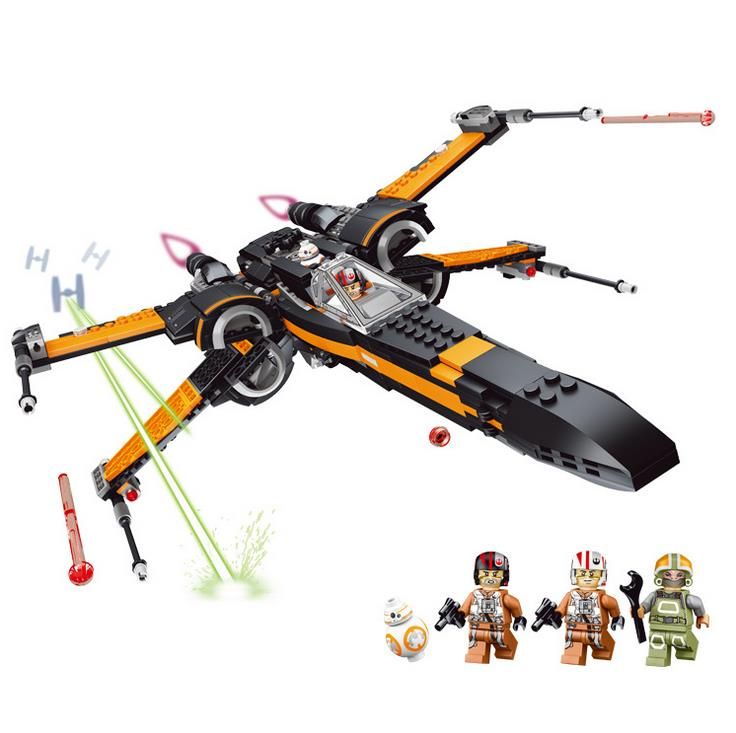 high-quality-star-wars-first-order-poe's-x-wing-fighter-model-building-blocks-bricks-toys-for-children-legoing-font-b-starwars-b-font-gifts