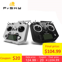 Free Shipping FrSky ACCST Taranis Q X7 2.4G 16CH Mode 2 Transmitter Remote Controller White Black International Version