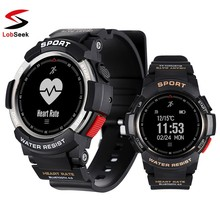 2019 NEW F6 Smartwatch IP68 Waterproof Bluetooth 4.0 Dynamic Heart Rate Monitor Smart watch For Android Apple Phone