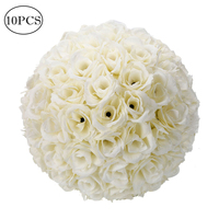 10Pcs 25CM Tissue Paper Pompoms Flower Balls Wedding Party Home Outdoor Hanging Decoration