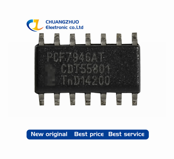 PCF7946AT PCF7946 7946 Chip 100% Good Quality  SOP14 1PCS