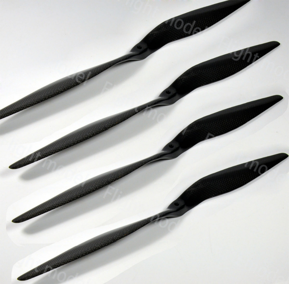 Carbon Fiber Propeller 18 Inch 18x8 For RC Electric Airplane Engine