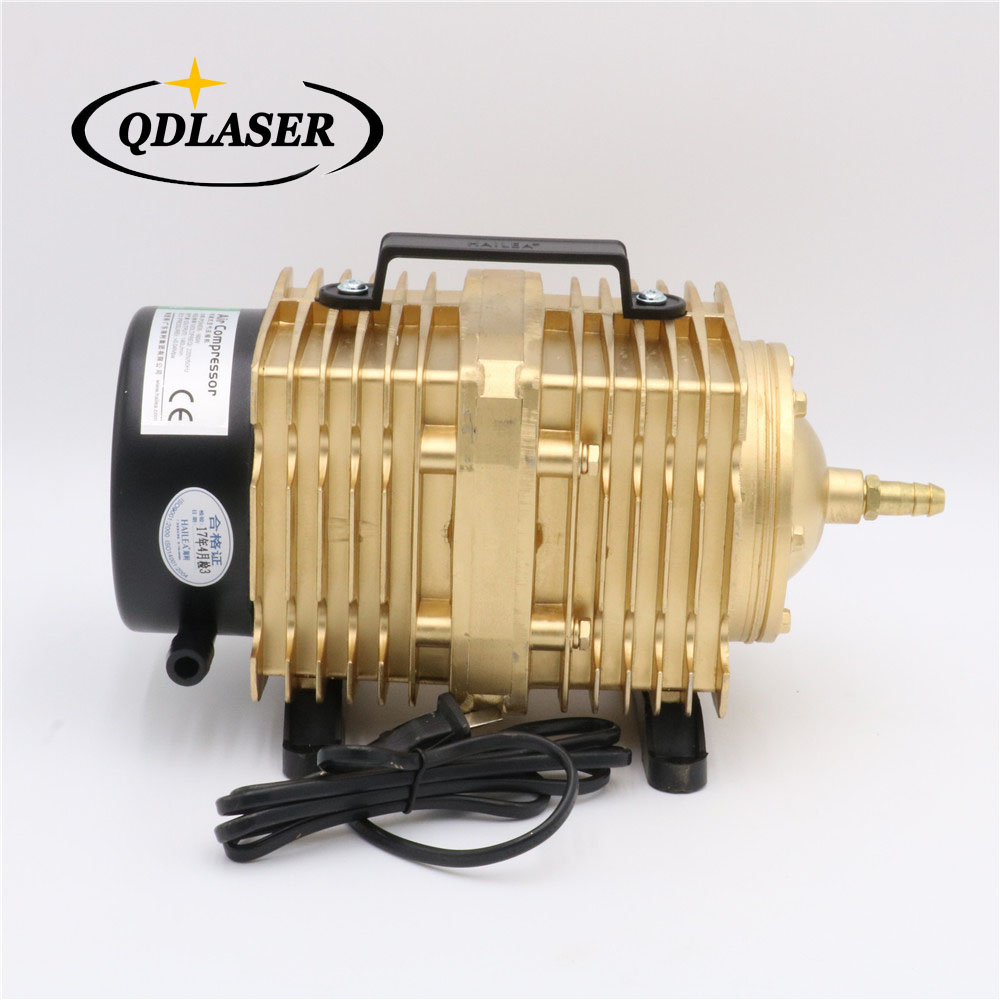 160W Air Compressor Electrical Magnetic Air Pump ACO-009E for CO2 Laser Engraving Cutting Machine
