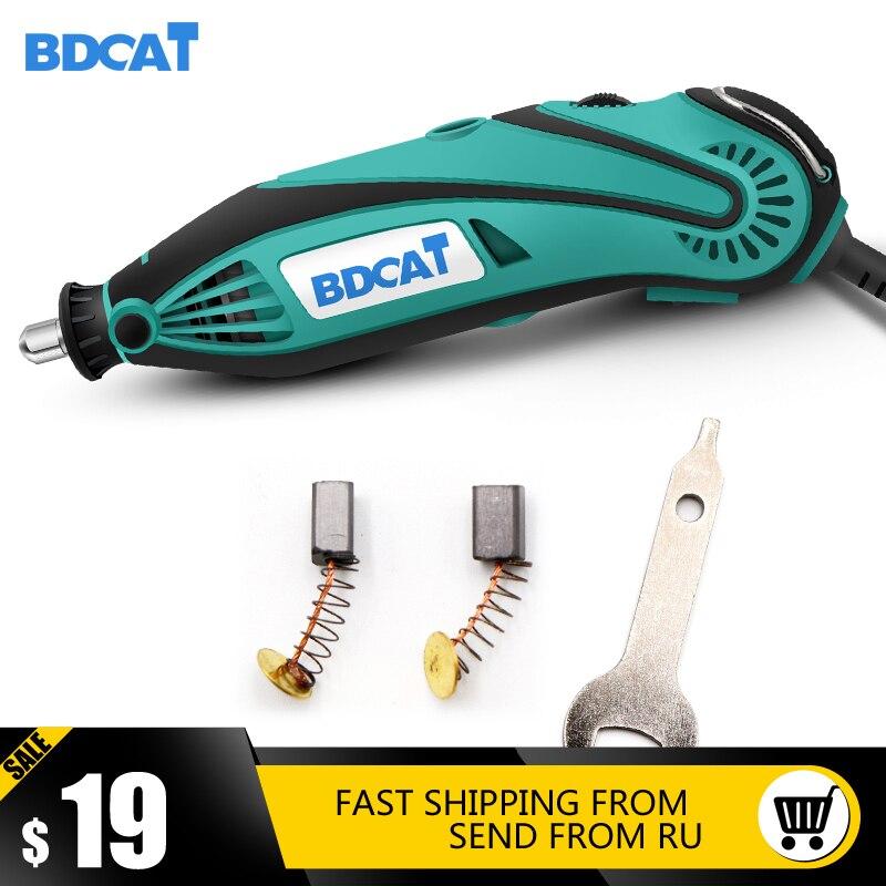 BDCAT 2018 Neue Stil Elektrische Dremel Mini Bohrer polieren maschine Variable Speed Dreh Werkzeug