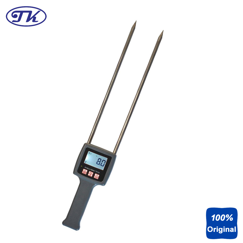 Handheld Multifunctional Moisture Tester 0-60% TK100 tk100 portable digital multifunctional moisture meter tester