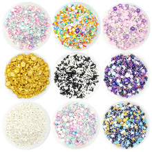 Mixed shape edible baked decorative candy cup cake sugar donut lollipop beads colored needle topper decoration