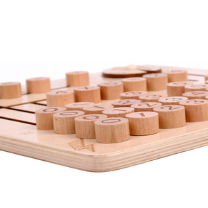 Image 3 - JaheerToy Wooden Math Toys for Children Montessori Materials Learning To Count Numbers Early Mathematics Education for Babies