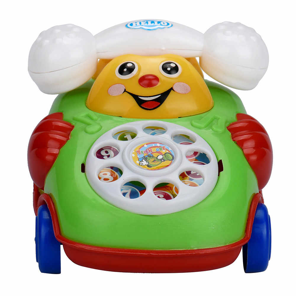 Educatief Speelgoed Cartoon Glimlach Telefoon Auto Developmental Kids Toy Gift Levert Dropship ye11.16