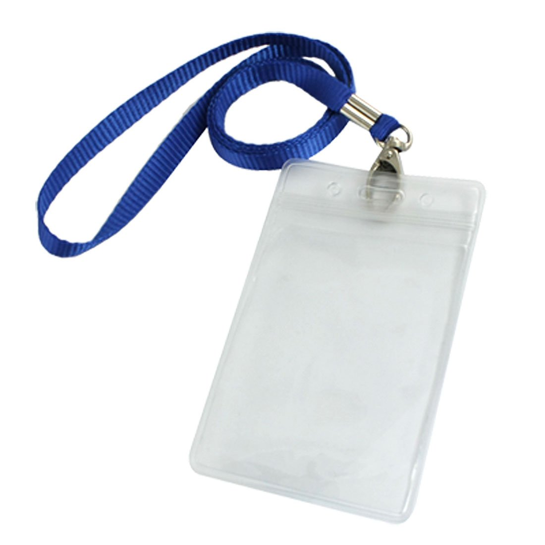 new and hot vertical clear plastic id badge card holder w neck strap 2 pcs in badge holder accessories from office school supplies on aliexpresscom - Plastic Id Card Holder