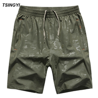 Tsingyi Summer Big Size 6XL 8XL 130kg Camo Men Board Shorts Quick Dry Mens Boardshorts Brevile Pullquin Camouflage Beach Shorts