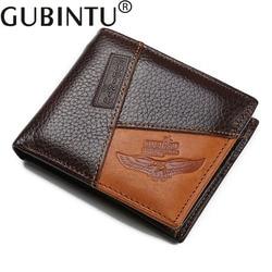 2017 Luxury Brand Men Wallet 100% Genuine Leather Small Wallet Male Clutch Money Bag Purse Portfolio Man High Quality Designer