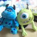 2 unids/lote 20 cm Monster Monsters Inc monsters Universidad Mike Wazowski & James P. Sullivan juguete de peluche para los niños regalo