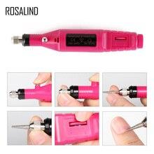 Розалинд 1 компл. Электрический маникюрный набор дрель для машины Электрический Nail Art Pen Педикюр Nail Art инструменты для маникюра