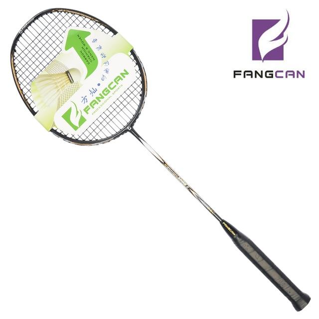 1 unid FANGCAN N90III Ultraligero Raqueta de Bádminton de Alta gama para el Intermedio y Jugadores de Alto Nivel Profesional