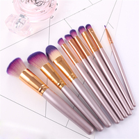9Pcs Professional Unicorn Makeup Brushes Set Beauty Cosmetic Eyeshadow Lip Powder Face Pinceis Tools Kabuki Kwasten