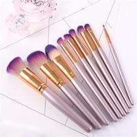 9Pcs Professional Unicorn Makeup Brushes Set Beauty Cosmetic Eyeshadow Lip Powder Face Pinceis Tools Kabuki Kwasten