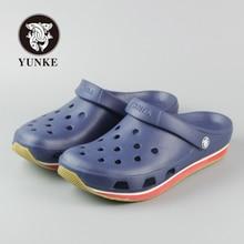 2016 Summer Mens Clogs Beach Slippers For Men Garden Shoes Mule Clogs