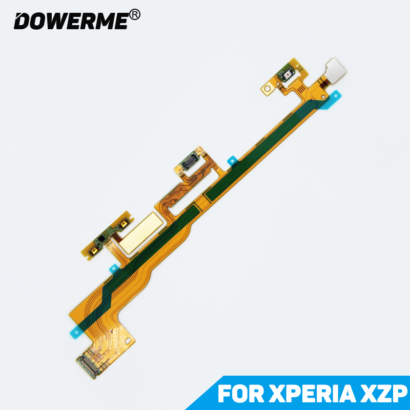 DowerMe Power Button On/Off Volume Camera Switch Connector Ribbon Flex Cable For Sony Xperia XZ Premium XZP G8142 G8141