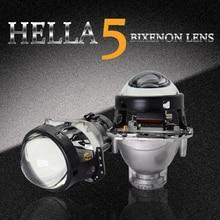 3.0 Inch Car Hella 5 3R G5 Bixenon Projector Lens Black Full Metal Holder For Hid Headlight Retrofit  Use D1S D2S D3S D4S Bulb