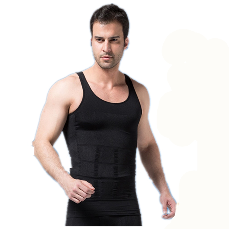 687da27e094db8 Foreign trade body Shapers vest slim lift men body sculpting clothing  abdomen underwear Men Sleeveless Tops